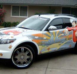 Транспортна реклама с фолио-брандиране на автомобили