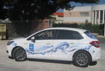 Брандиране, облепяне на фирмени автомобили с фолио