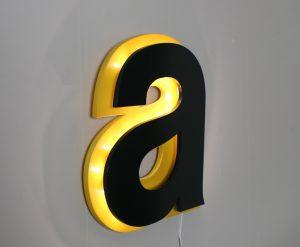 Обемни букви с подсветка за реклама
