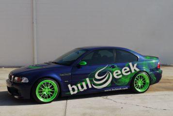 Брандиране на автомобили с фирмен дизайн. Облепване на място.