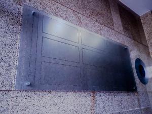 Стъклени табели за офис сгради