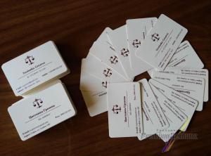 Адвокатски визитки